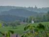Blick von Holzelfingen bis zum Schloss Lichtenstein