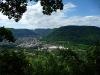 Blick über das Echaztal und Unterhausen