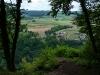 Ruine Alter Lichtenstein - Blick auf Traifelberg