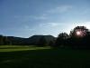 Blick zurück zum Pfullinger Berg