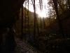 Blick aus der Falkensteiner Höhle