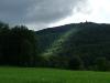 Blick hinauf zum Schönbergturm (Onderhos)