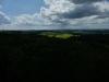Blick vom Aussichtsturm Römerstein nach Nordwesten