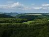 Blick vom Aussichtsturm Römerstein ins Lenninger Tal