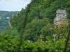 Felsen über dem Donntal