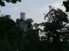 Blick von der Ruine Alter Lichtenstein zum Schloss Lichtenstein