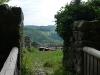 Ruine Greifenstein mit Blick auf Schloss Lichtenstein