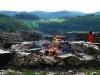 Picknick und Grillen in der Ruine Greifenstein