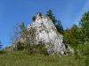 Wacholderheide mit Felsen bei Bichishausen