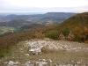 Blick vom Breitenstein zu den Drei Kaiserbergen