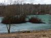 Reutlinger See mit Eisschicht