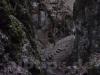 Hochaufragende Felsen im Bärental