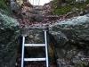 Rückweg von den Höhlen Große Scheuer und Haus zum Hauptweg