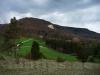 Blick zum Hirschkopf mit Bergrutsch