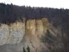 Mössinger Bergrutsch vom Fuß des Farrenbergs gesehen
