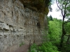Felsengalerie oberhalb der Wutach