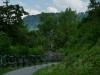 Blick vom Radweg zum Schloss Lichtenstein