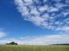 Auf der anderen Seite blauer Himmel
