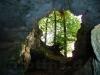 Ausgang aus der Goldloch-Höhle