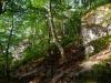 Felsen rund um die Goldloch-Höhle