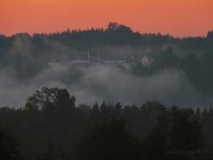 Wildensteinblick im Sonnenaufgang