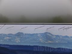 (Keine) Alpensicht vom Bussen