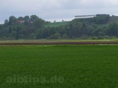 Die Heuneburg am Südrand der Alb