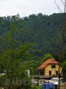 Ex-Bahnhof Honau und Schloss Lichtenstein