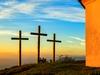 Kreuze bei der Salmendinger Kapelle