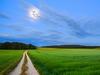 Weg in den Mond … oberhalb von Offenhausen