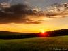 Sonnenaufgang in der Nähe von Lauterach