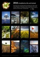 Schwäbische Alb Kalender 2016 von Andreas Melzer