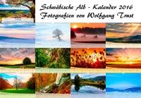 Schwäbische Alb Kalender 2016 von Wolfgang Trust