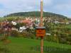 Blick über Stetten hinweg zum Neuhewen