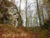 Burggraben der Ruine Hohenwittlingen