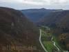 Blick ins Ermstal Richtung Seeburg