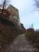 Steiler Anstieg zur Ruine Hohenurach