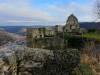 Blick über die Ruine nach Bad Urach