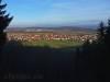 Blick vom Auchtert Hau-Bänkle über Ohnastetten hinweg