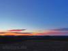 Albhochfläche mit Morgenrot