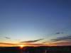 Die Sonne geht im Osten auf