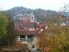 Blick vom Schloss Hohentübingen auf die Altstadt