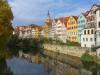 Klassische Postkartenansicht von Tübingen