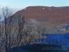 Blick nach Nordosten zum Hohenstaufen, zum Beurener Fels und zur Burg Teck