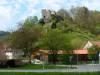 Burgruine Bichishausen über dem Großen Lautertal
