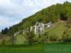 Spitzer Stein: Schwammstotzen  als Reste des Jurameeres
