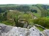Burgruine Hohengundelfingen und die Wacholderheide beim Bürzel