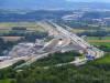 A8 und Baustelle des Bahnprojekts S-Ulm