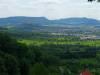 Blick zur Limburg, zum Albtrauf und zur Burg Teck