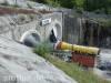 S21-Baustelle am Eingang zum Boßlertunnel